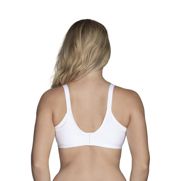 Beauty Back® Full Figure Underwire Extended Side and Back Smoother Bra Star White