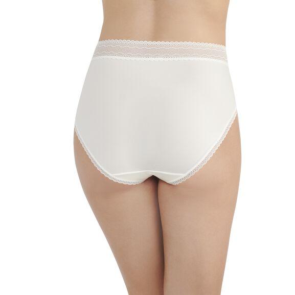 Flattering Lace Hi-Cut Panty Cocontwhte