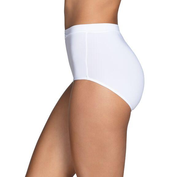 Beyond Comfort® Silky Stretch Brief Star White