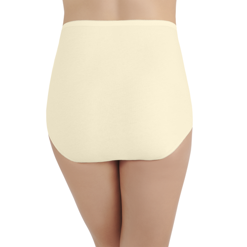 Perfectly Yours® Tailored Cotton Brief Candleglow
