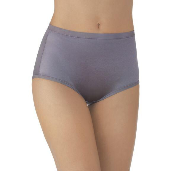Body Caress Brief Panty Steele Violet