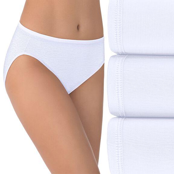 Illumination Hi-Cut Panty, 3 Pack Star White/Star White/Star White