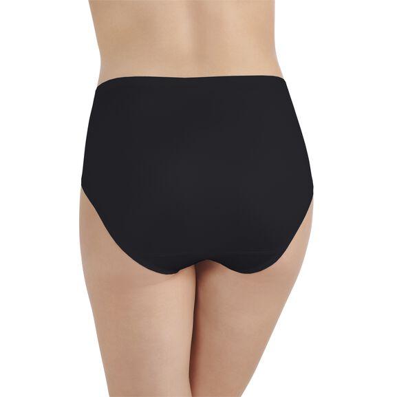 Body Caress Hi-Cut Panty Midnight Black