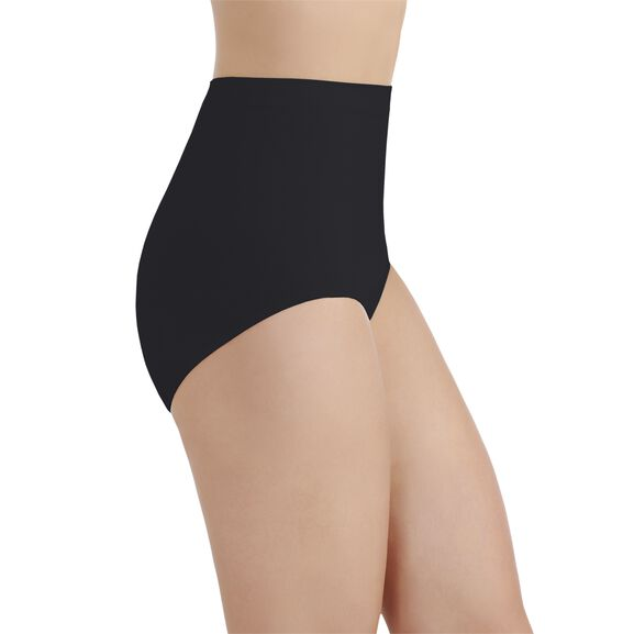 Perfectly Yours Seamless Tailored Full Brief Panty Midnight Black