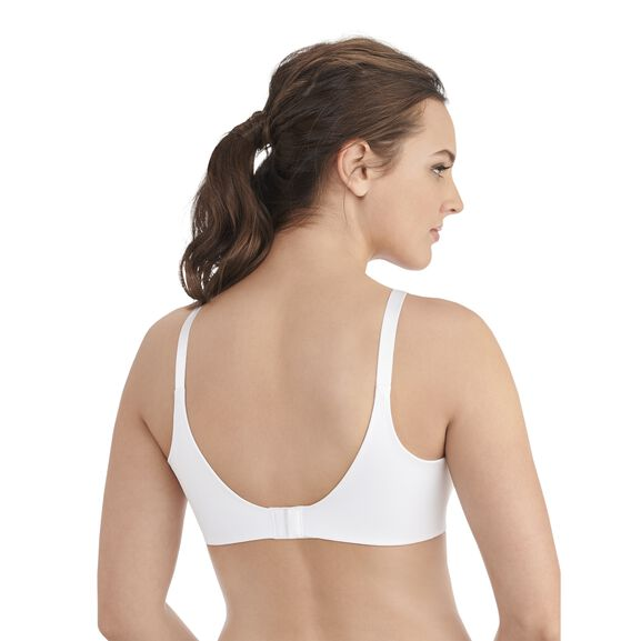 Beauty Back Full Coverage Wirefree Smoothing Bra Star White
