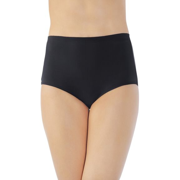 Cooling Touch Brief Panty Midnight Black