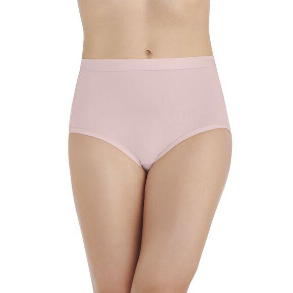 Comfort Where It Counts Brief Panty Sheer Quartz