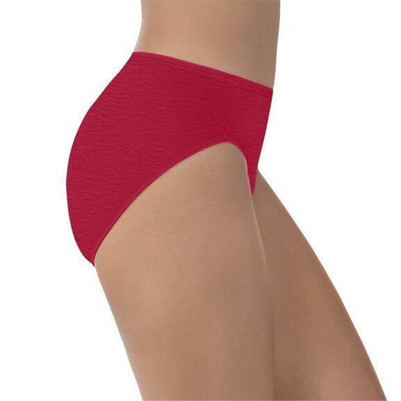 Illumination Hi-Cut Panty Gallahad Red