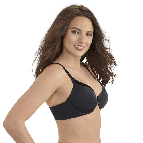 Illumination® Front Close Full Coverage Underwire Midnight Black