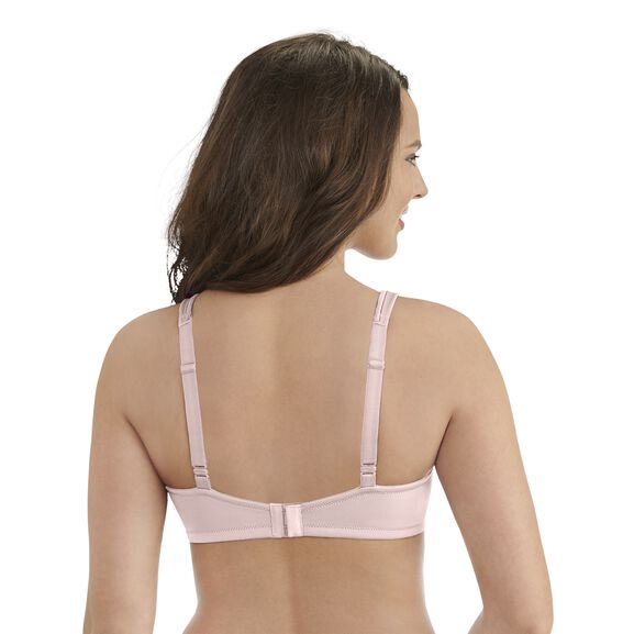Body Caress Full Coverage Wirefree Bra Sheer Quartz