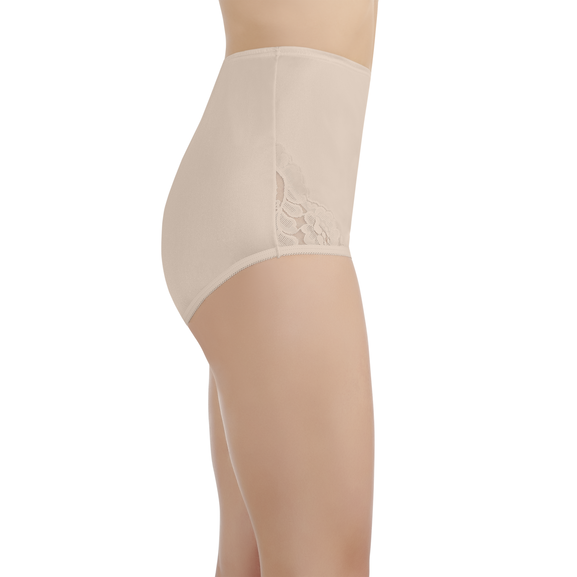 Perfectly Yours® Lace Nouveau Brief Fawn