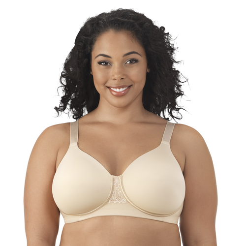 Beauty Back® Full Figure Wirefree Bra Honey Beige Orchid