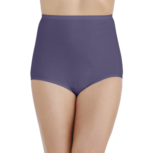 Perfectly Yours® Tailored Cotton Brief Blue Charcoal