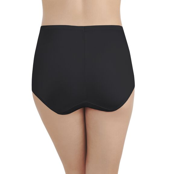 Smoothing Comfort™ Brief Panty Midnight Black