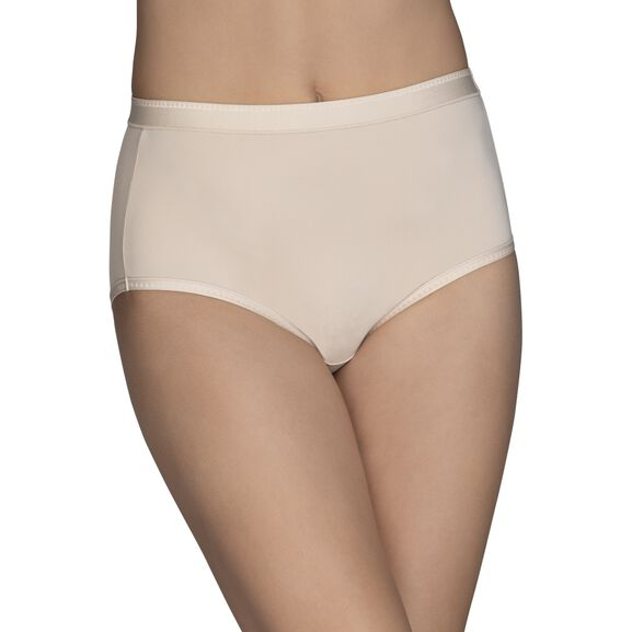 Comfort Where It Counts Brief Panty Damask Neutral