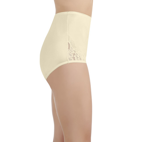 Perfectly Yours® Lace Nouveau Brief Candleglow