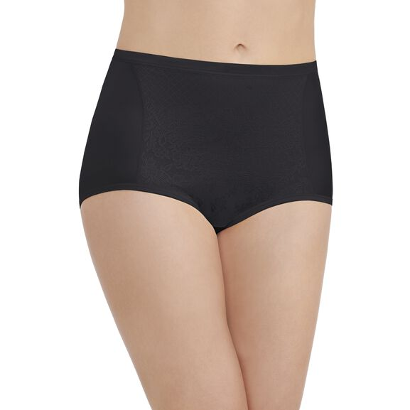 Smoothing Comfort™ Brief Panty with Lace