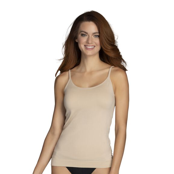 Everyday Layers Seamless Cami Damask Neutral