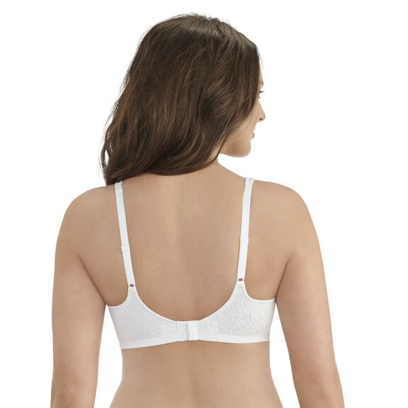 Body Shine Full Coverage Wirefree Bra Star White Jacquard