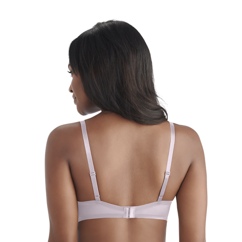 Nearly Invisible Full Coverage Underwire Bra EARTHY GREY