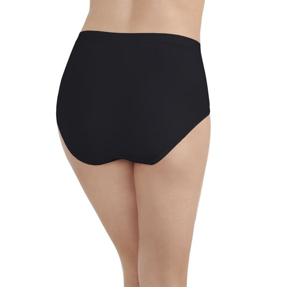 Comfort Where It Counts Brief Panty Midnight Black