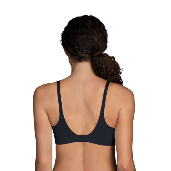 Beauty Back Full Coverage Underwire Smoothing Bra Midnight Black