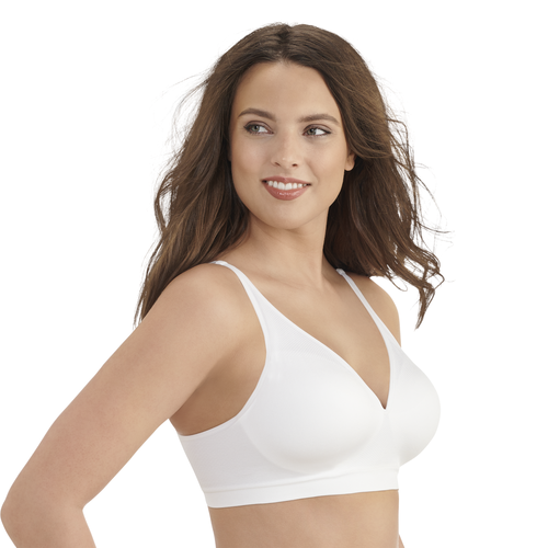 Breathable Luxe Full Coverage Seamless Wirefree Star White