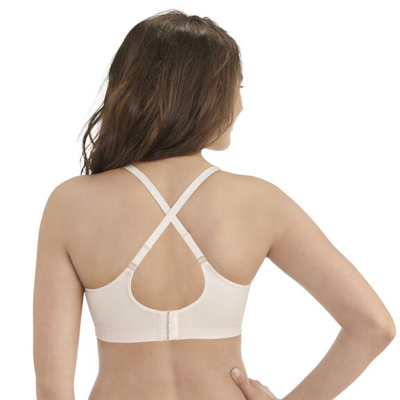 Breathable Luxe Full Coverage Seamless Wirefree Sheer Quartz