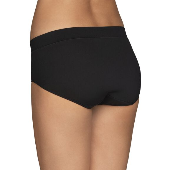 Beyond Comfort® Hipster Panty Midnight Black