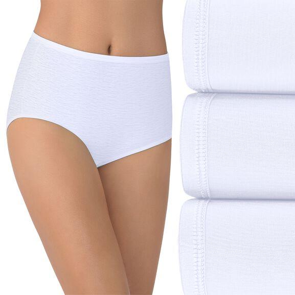 Illumination Brief Panty, 3 Pack Star White/Star White/Star White