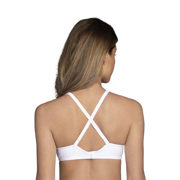 Body Caress Full Coverage Underwire Bra Star White
