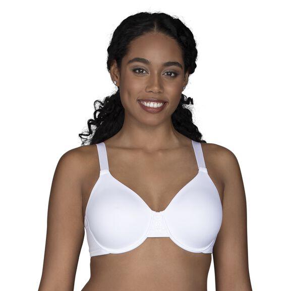 Beauty Back Full Figure Underwire Minimizer Star White