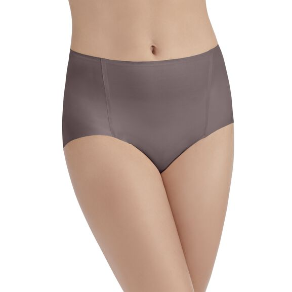 Nearly Invisible™ Brief Panty DEEP MAUVE