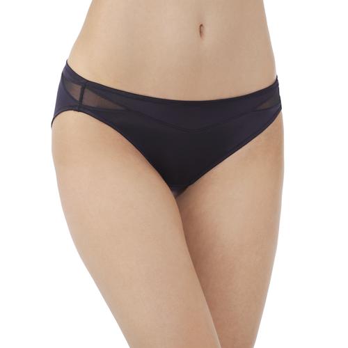 Breathable Luxe Bikini Midnight Black