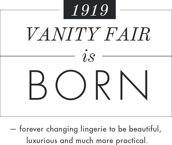 1919 - Vanity Fair is born