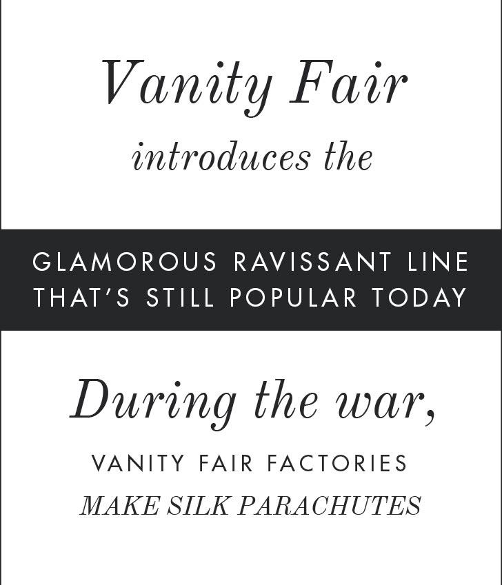 Vanity Fair introduces the glamorous Ravissant line.